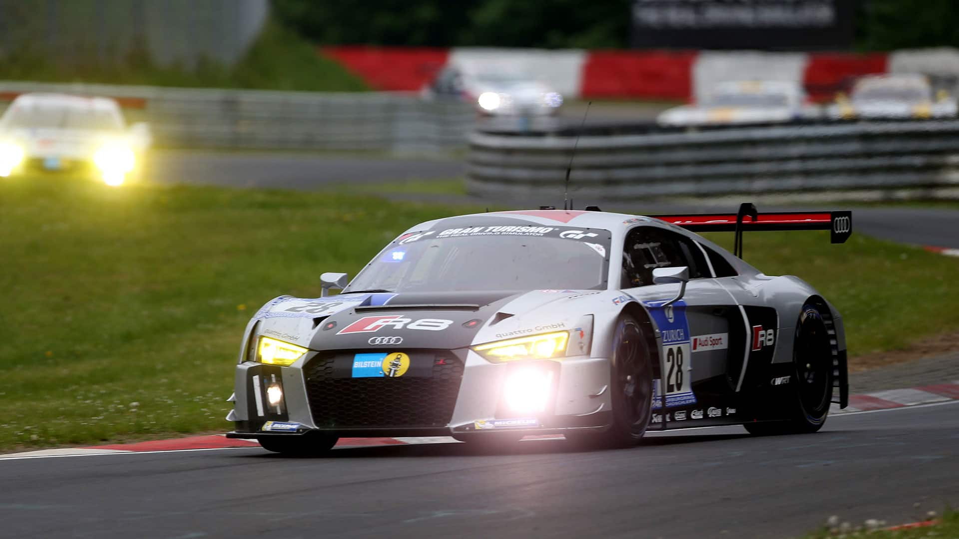 2015: The New Audi R8 LMS Wins The Nürburgring 24 Hours At Its Debut.