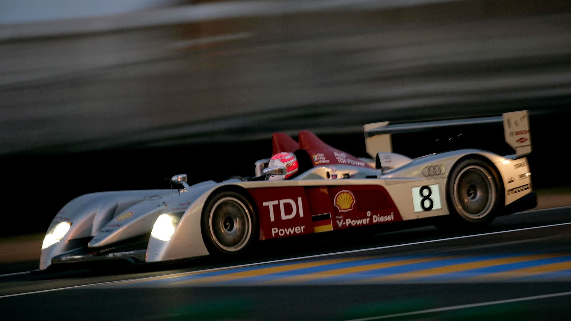 2006: The Audi R10 TDI Was The First Ever Car With Diesel Power To Triumph  In The Legendary Le Mans 24 Hours.