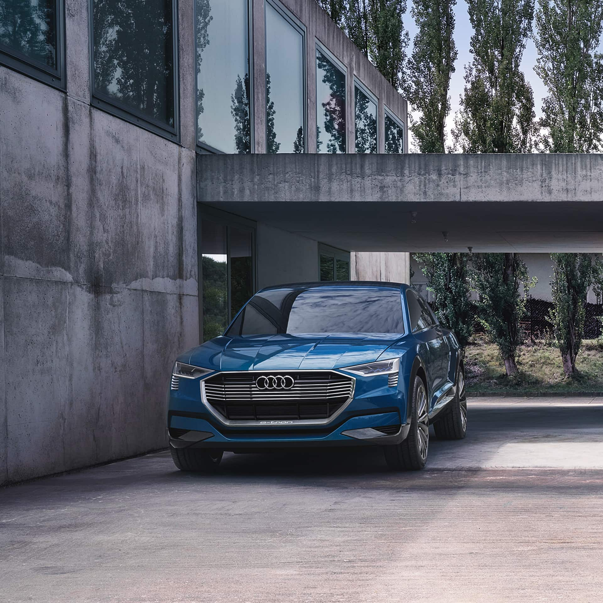 The Use Of Matrix Laser Oled Technology In Audi E Tron Quattro Concept Is A World First On Front Car And Represents Vorsprung Durch Technik